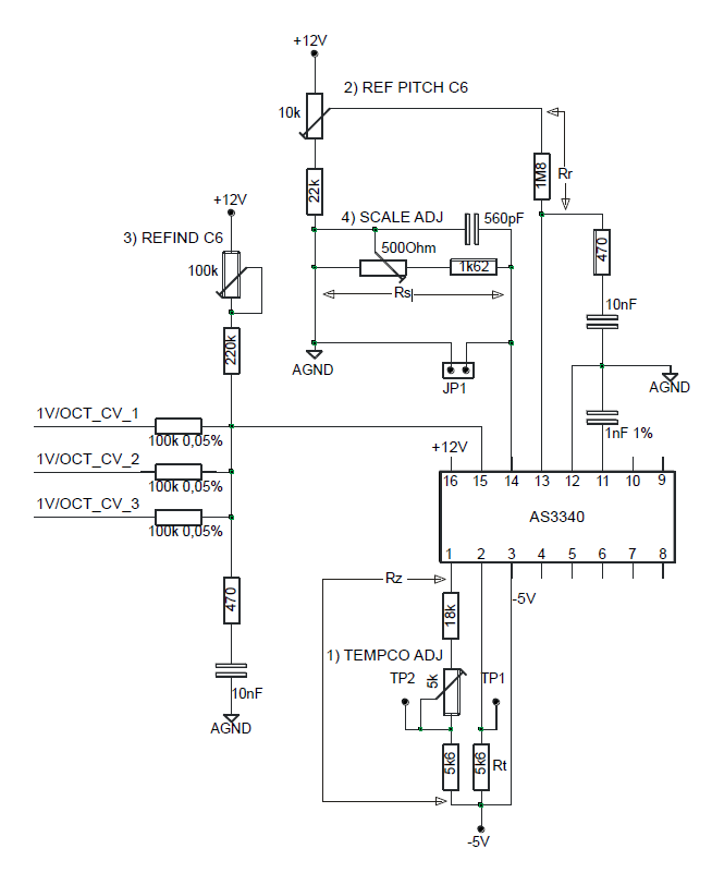 Diy Vca Schematic